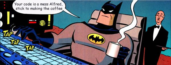 404 - batman coding